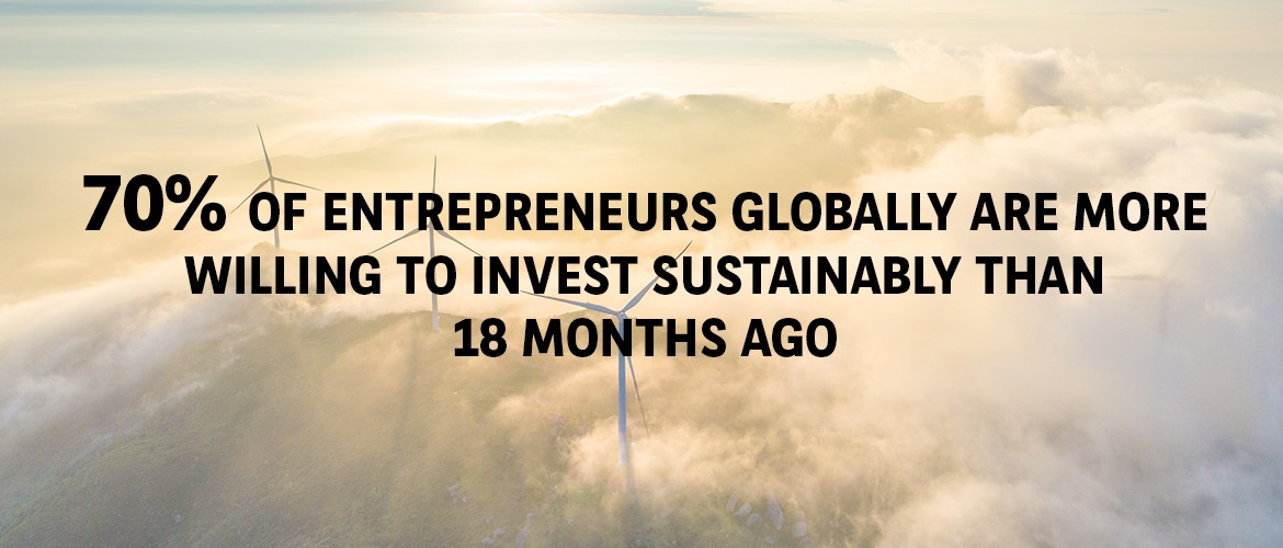 Entrepreneurs Willing To Invest Sustainably